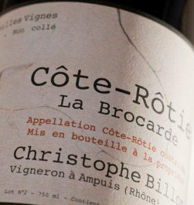 Domaine Christophe Billon La Brocarde Côte-Rôtie 2005-0