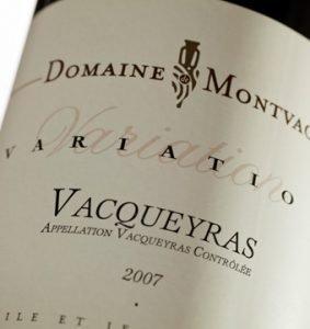 Domaine Montvac Variation Vacqueyras 2007-0