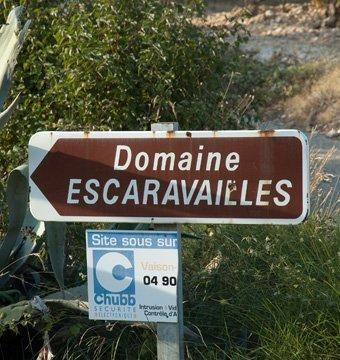 Domaine des Escaravailles Le Ventabren Côtes du Rhône Villages Carainne 2013-414