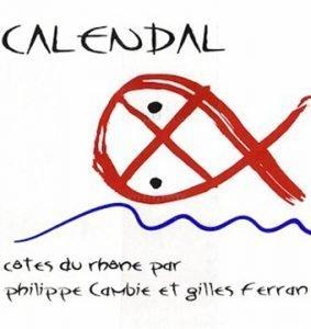 Domaine Calendal Côtes du Rhône Villages Plan de Dieu 2012-0